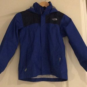 Boys size S (7/8) The North Face Windbreaker